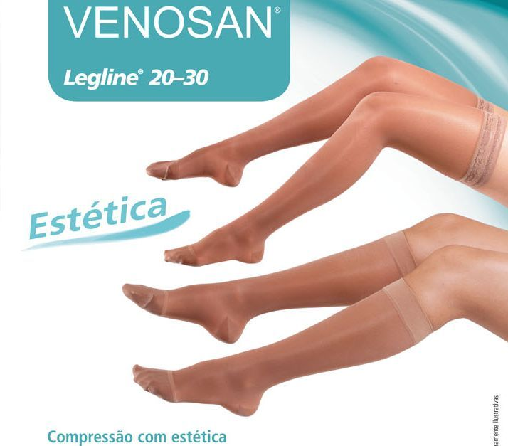 3790bbec5 Meias Medicinal Venosan Legline 20-30 mmHg AGH