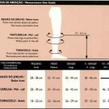 Tabela de Medidas Ultraline